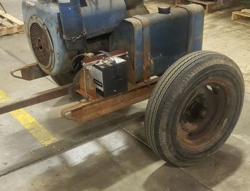 Here's a Gorman Rupp Pump that was just pulled into our shop for repairs.  Has alot of good miles left on it!  #pumprepairservic…